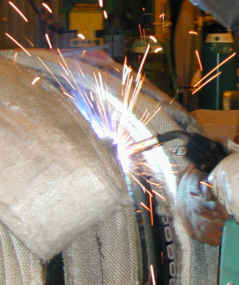 Mig weld of Pipe